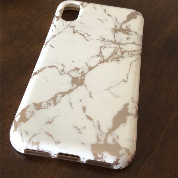 huge selection of 109be 20d95 Iphonex marble phone case - white and rose gold